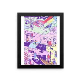 OMORI – Pure Imagination✨ Framed poster