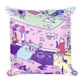 OMORI – Pure Imagination✨ Square Pillow