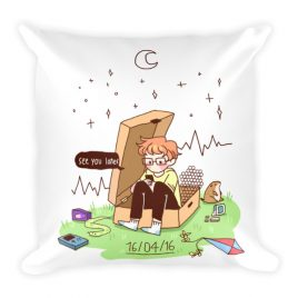 16​/​04​/​16 – cavetown album themed Square Pillow