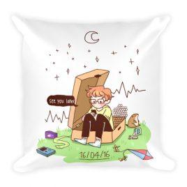 16/04/16 – cavetown album themed Square Pillow