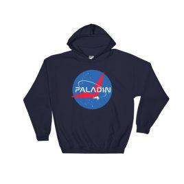Paladin Parody Hooded Sweatshirt – Navy, 5XL