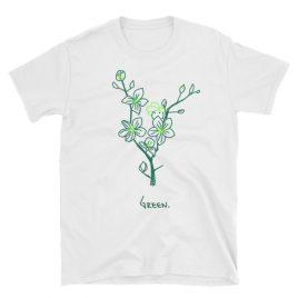 Green Short-Sleeve Unisex T-Shirt