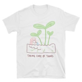 Taking Care Of Things Short-Sleeve Unisex T-Shirt Cavetown