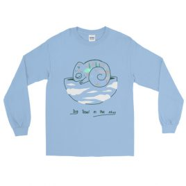 Big Bowl In The Sky Long Sleeve T-Shirt Cavetown