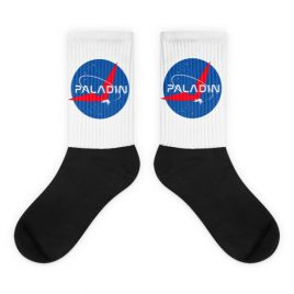 Paladin Nerdy Socks Parody