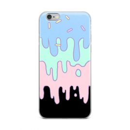 Kawaii Pastel Slime iPhone Case