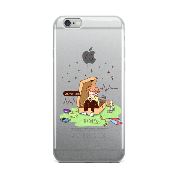 16​/​04​/​16 – cavetown album themed iPhone Case