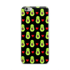 Kawaii Avocado iPhone Case