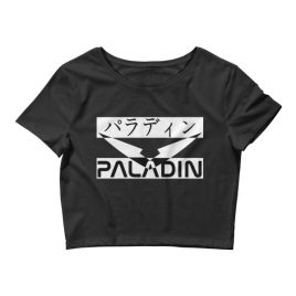Paladin English/Japanese Crop Top