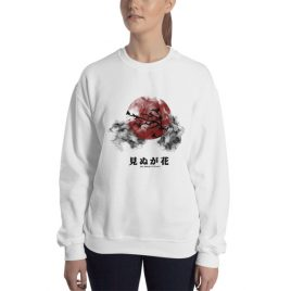 Not Seeing Is A Flower Crop Top Sweater