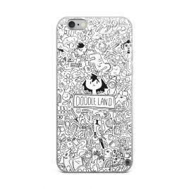 Doodle Land iPhone Case