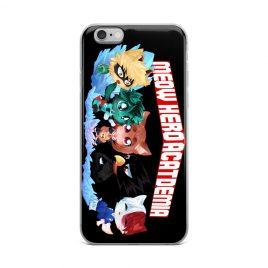 Meow Hero Acatdemia iPhone Case