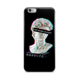 Cant Escape Yourself iPhone Case