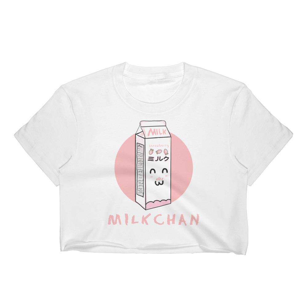 MilkChan Crop Top