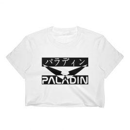Paladin Japanese/English Crop Top