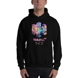 Waifu 64 Bit Hoodie