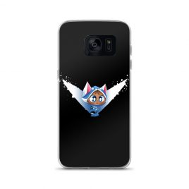 Blue Kitty Samsung Case