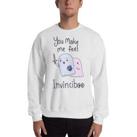 You Make Me Feel Invinciboo Sweater