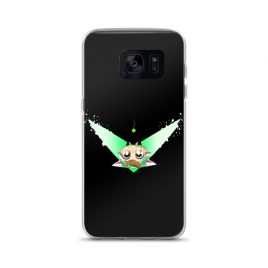 Green Kitty Samsung Case