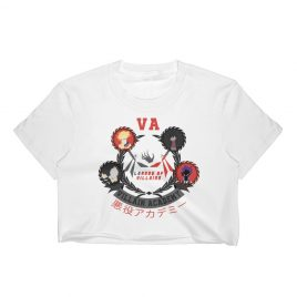 Villain Academy Crop Top
