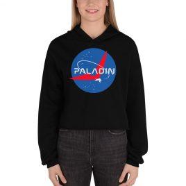 PALADIN NASA PARODY Crop Hoodie