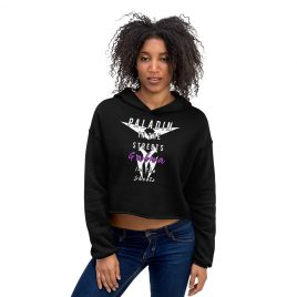 Paladin In The Streets Galra In The Sheets Crop Hoodie