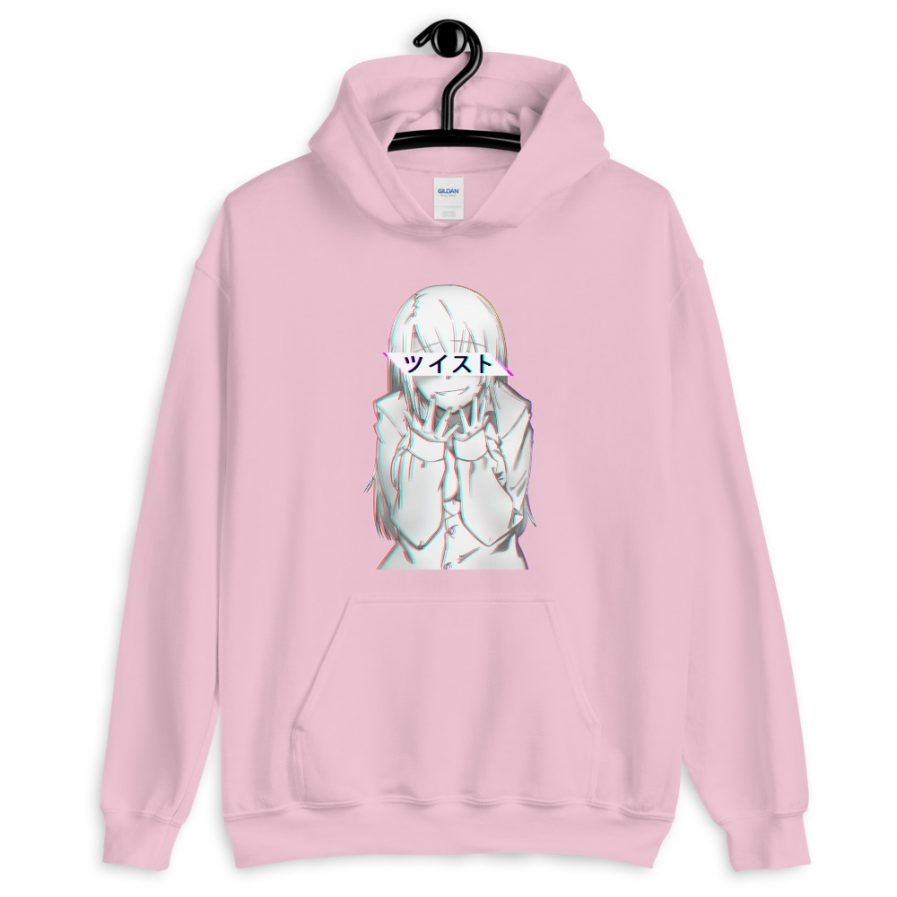 Twisted Anime Themed Hoodie