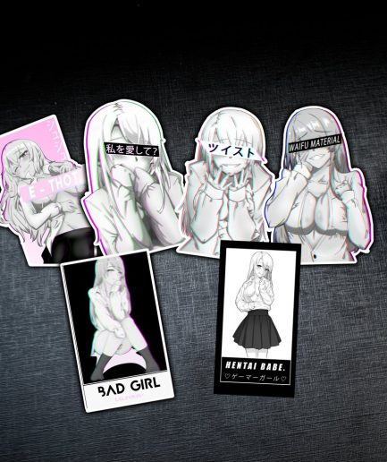 Anime Girl Sticker Pack Aesthetic