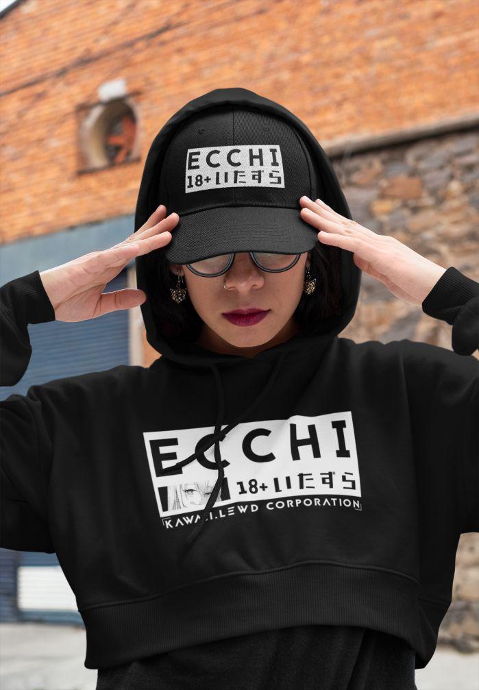 Crop Top Ecchi Hoodie