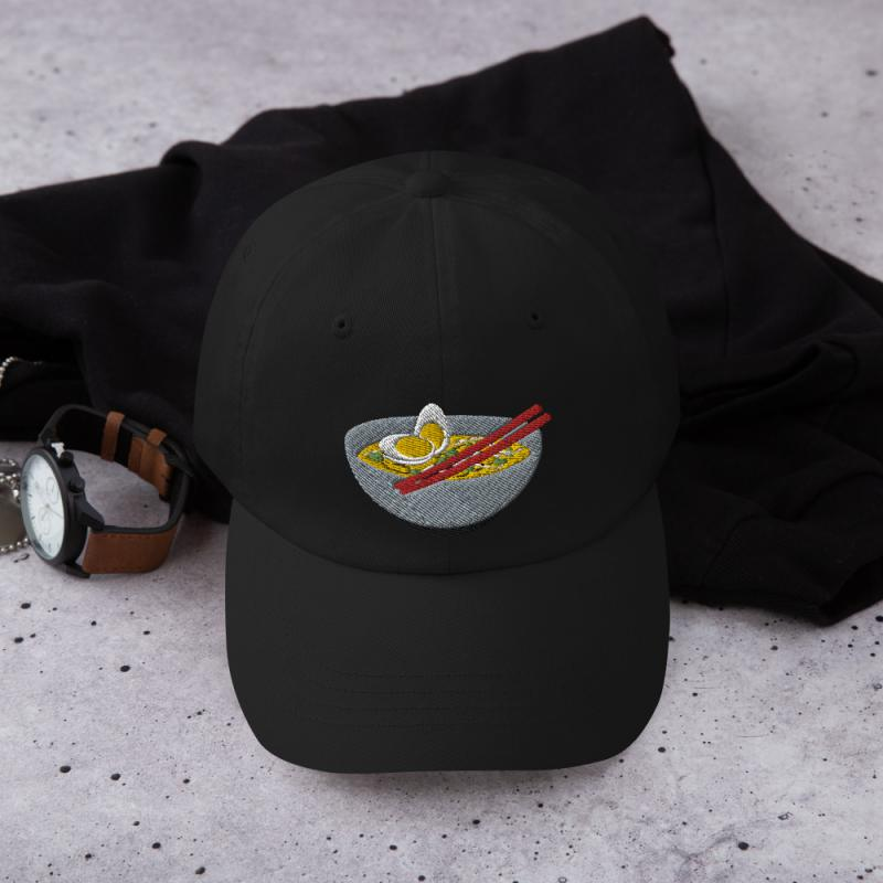 Anime Ramen Dad Hat
