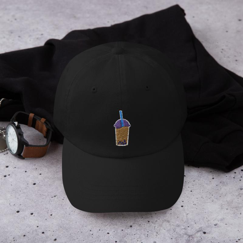 Boba Tea Anime Style Dad Hat